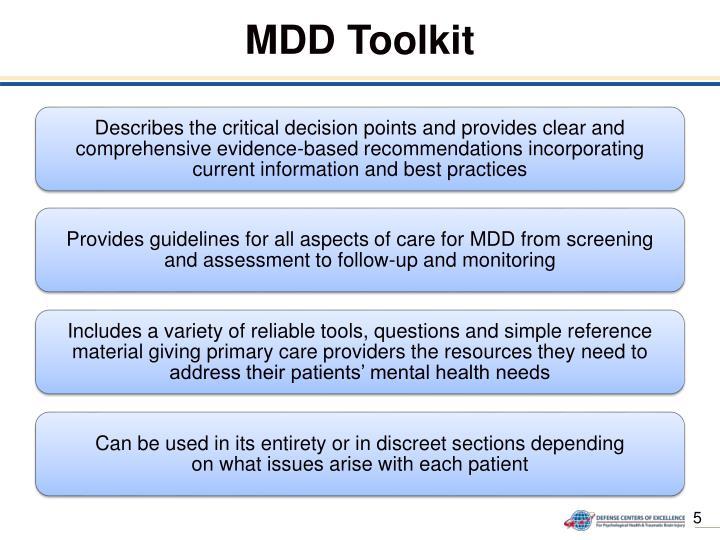 MDD Toolkit