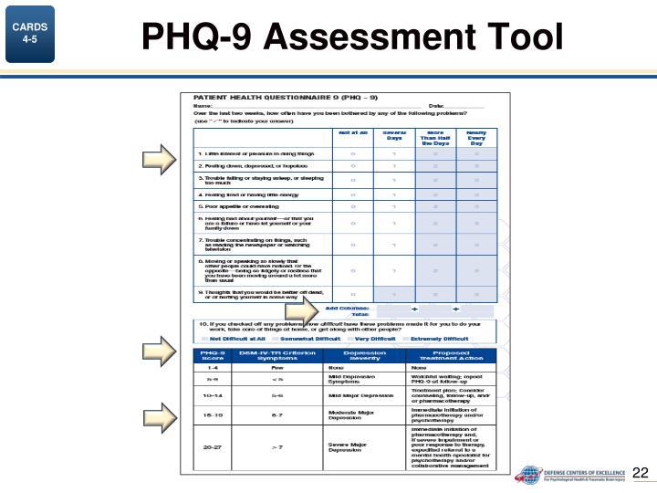 PHQ-9 Assessment Tool