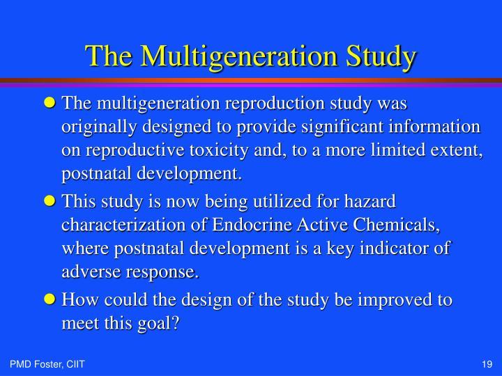 The Multigeneration Study
