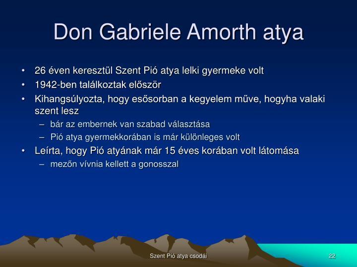 Don Gabriele Amorth atya