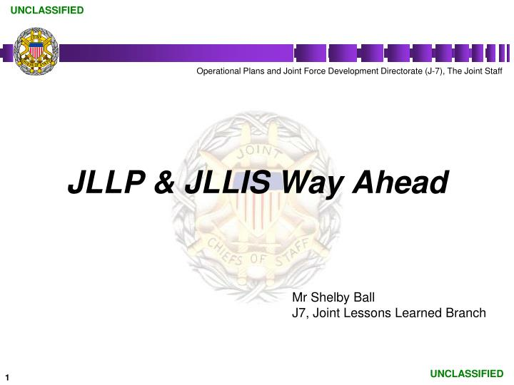 jllp jllis way ahead n.