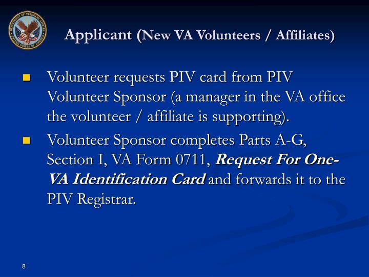 Applicant (