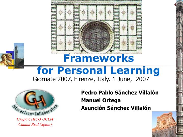 frameworks for personal learning n.