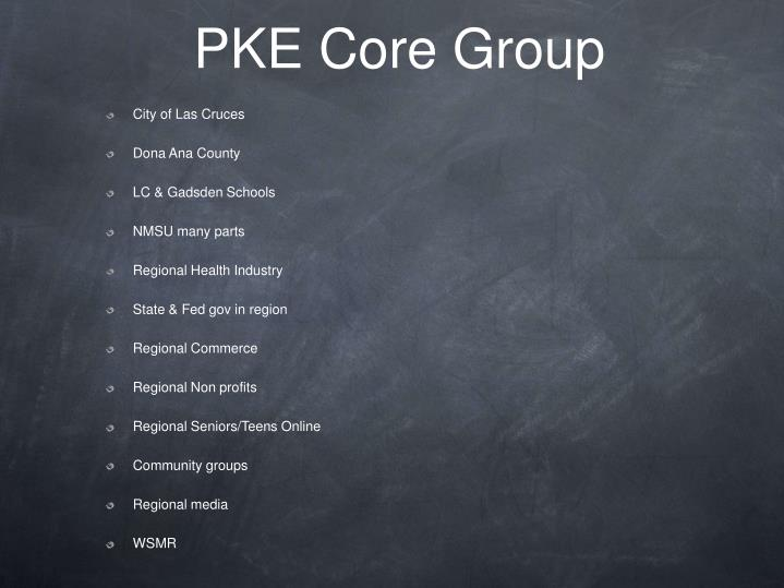 PKE Core Group
