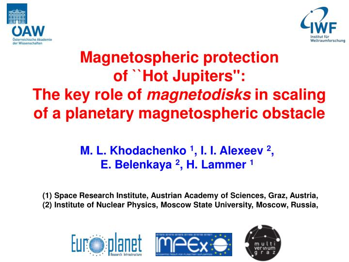 Magnetospheric protection
