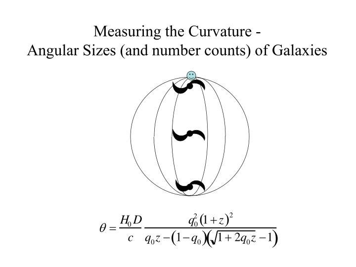 Measuring the Curvature -