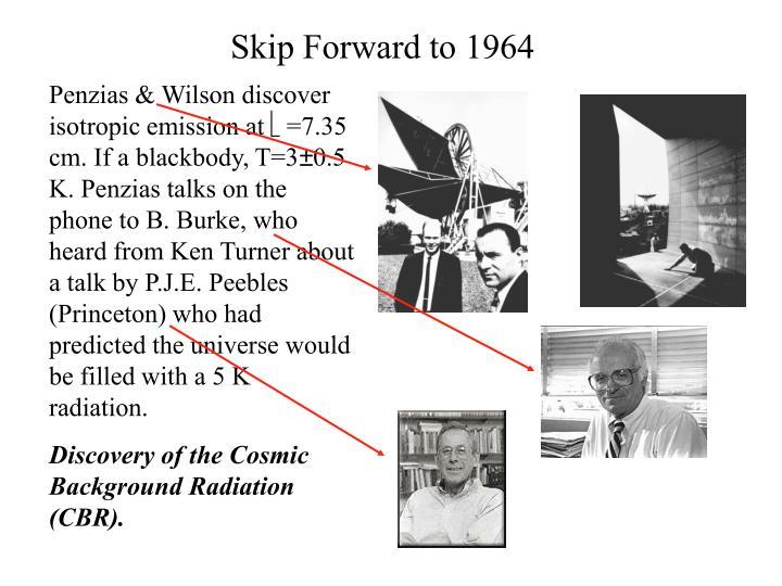 Skip forward to 1964