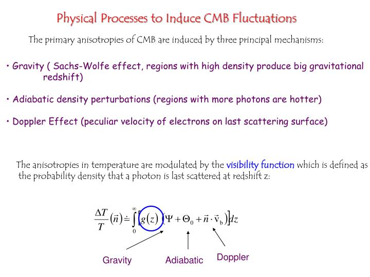 Physical Processes to Induce CMB Fluctuations