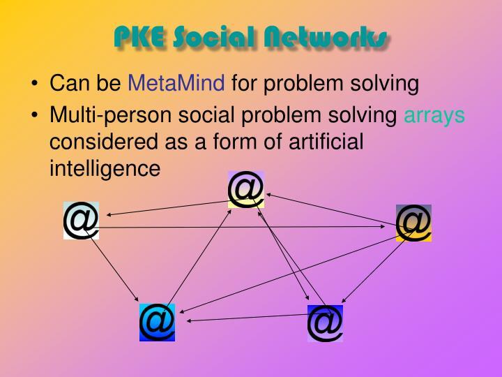 PKE Social Networks