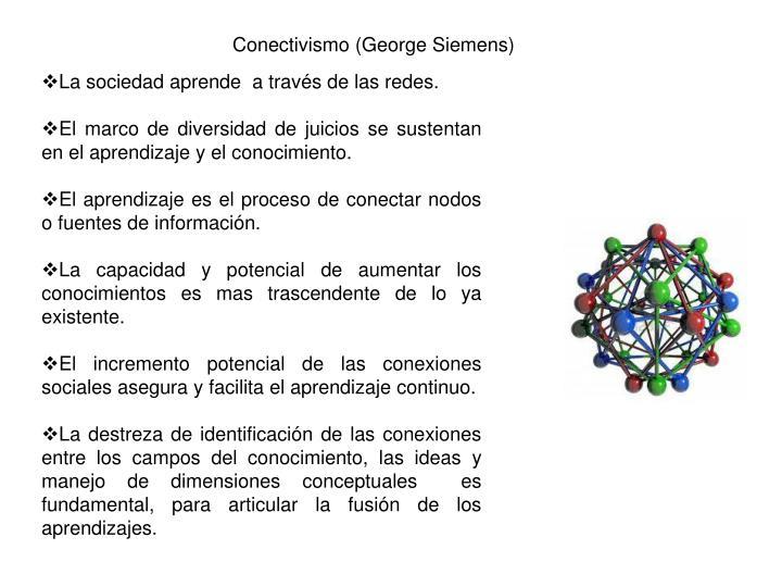 Conectivismo (George Siemens)