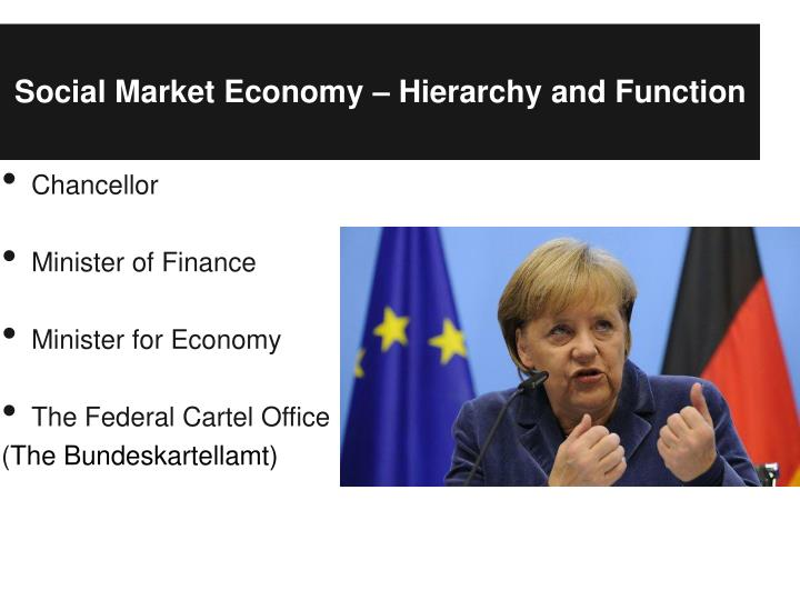 Social Market Economy – Hierarchy and Function