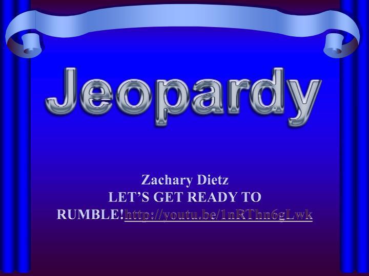 Zachary Dietz