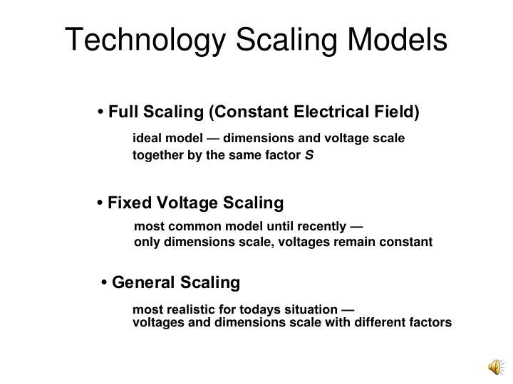 Technology Scaling Models