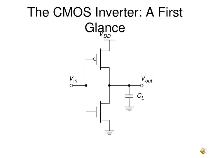 The cmos inverter a first glance