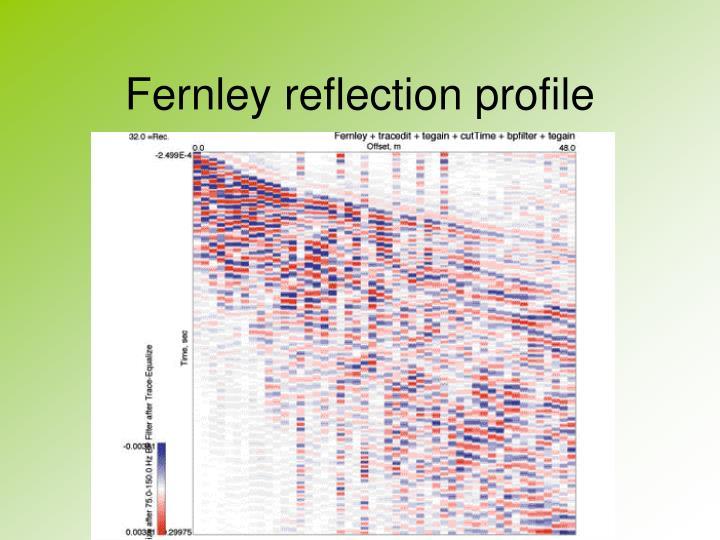Fernley reflection profile
