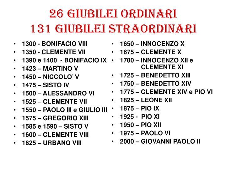 1300 - BONIFACIO VIII