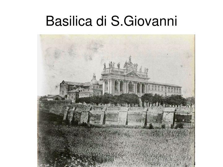 Basilica di S.Giovanni