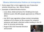 obama administrative policies on immigration