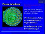plasma turbulence
