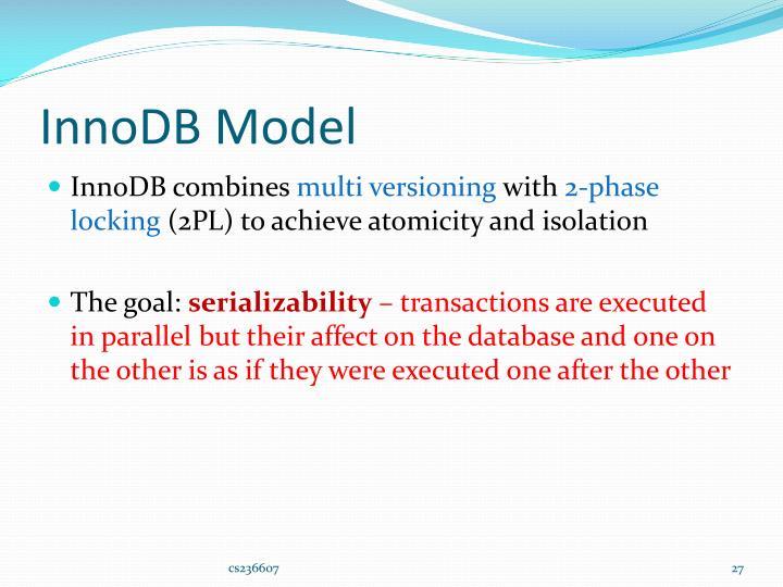 InnoDB Model