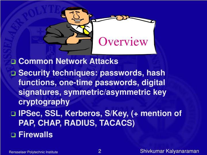 Common Network Attacks