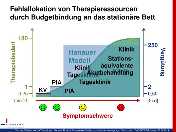 Fehlallokation von Therapieressourcen