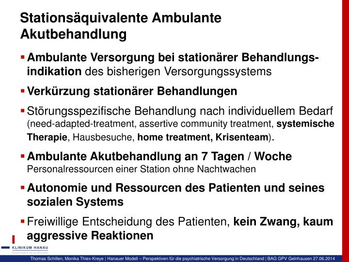 Stationsäquivalente Ambulante Akutbehandlung