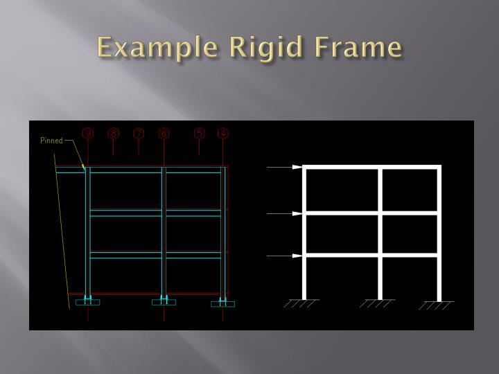 Example Rigid Frame