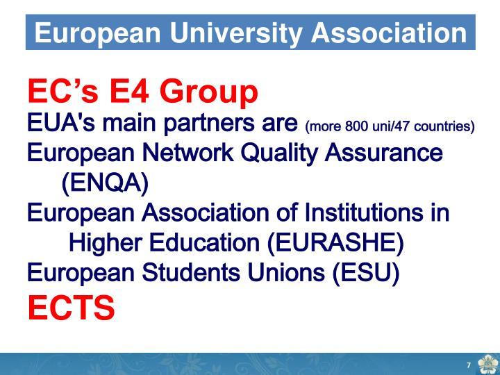 European University Association