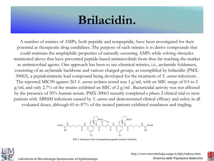 Brilacidin