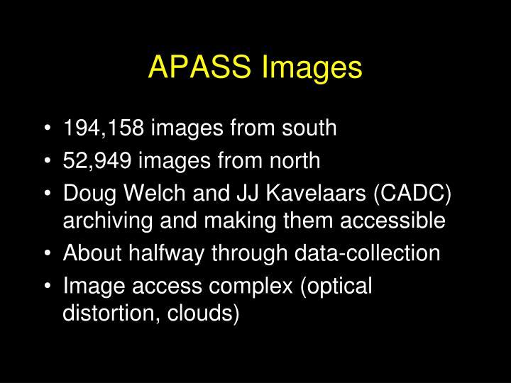 APASS Images