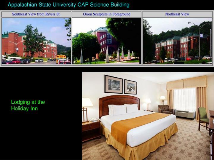 Appalachian State University CAP Science Building