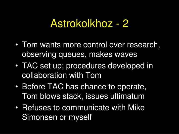 Astrokolkhoz - 2