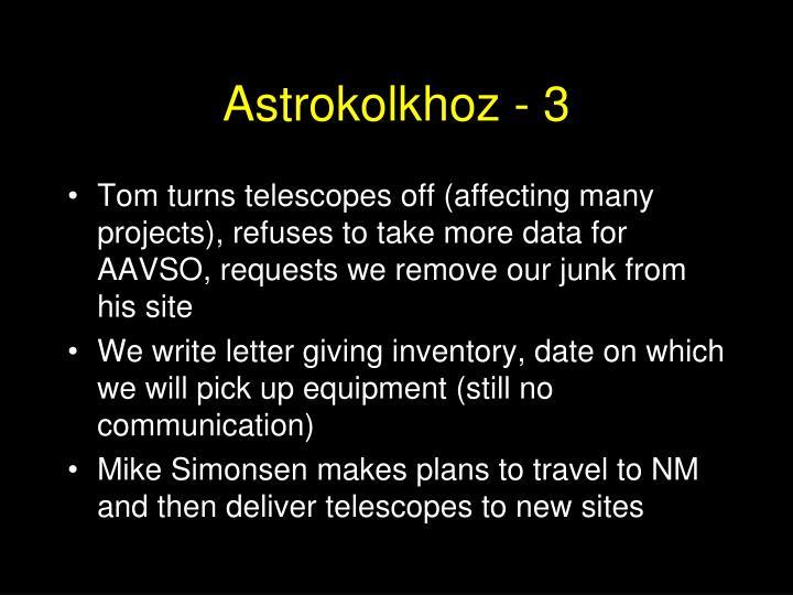 Astrokolkhoz - 3