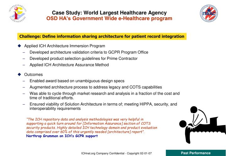 Case Study: World Largest Healthcare Agency