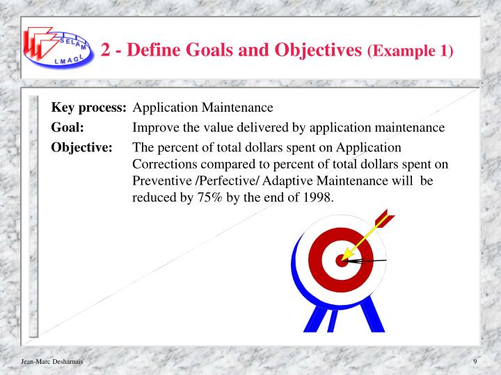 2 - Define Goals and Objectives