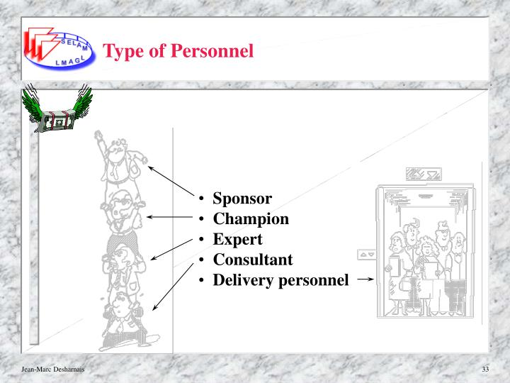 Type of Personnel