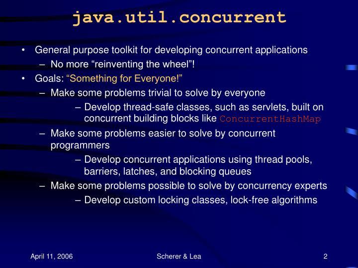 Java util concurrent