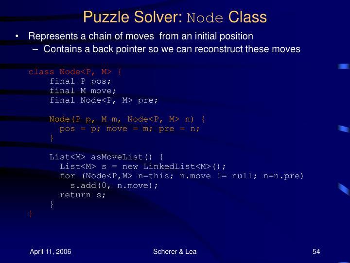 Puzzle Solver: