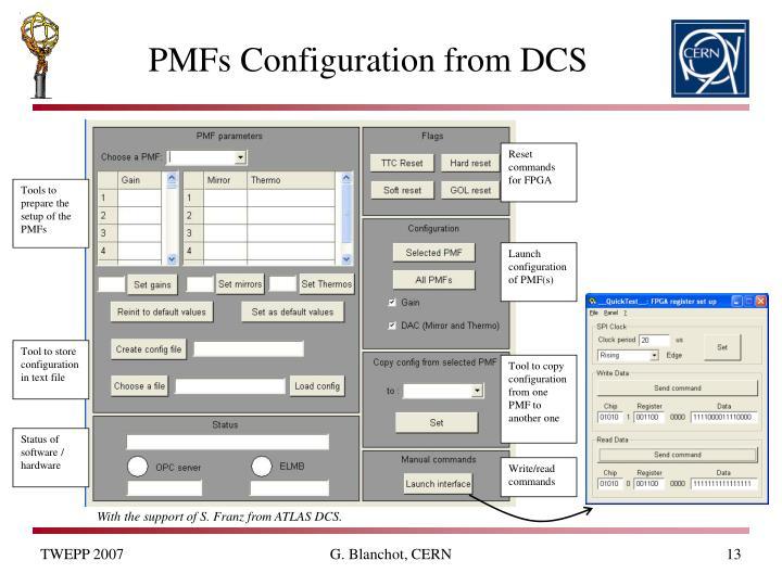 Reset commands for FPGA