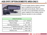 aqs fatc option domestic area only