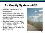 air quality system aqs