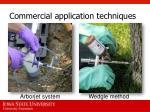 commercial application techniques2