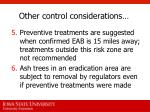 other control considerations2