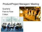 product project managers meeting