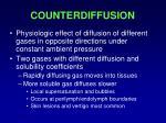 counterdiffusion