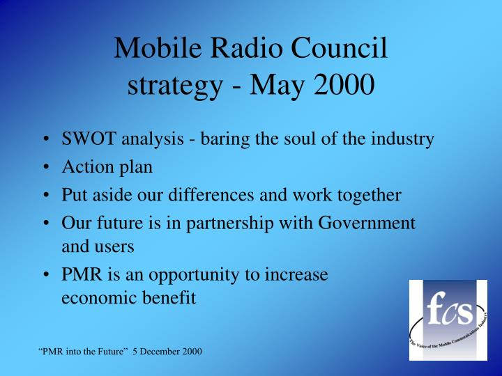 Mobile Radio Council