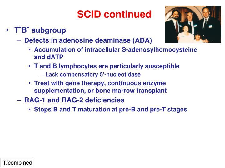 SCID continued