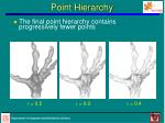 point hierarchy