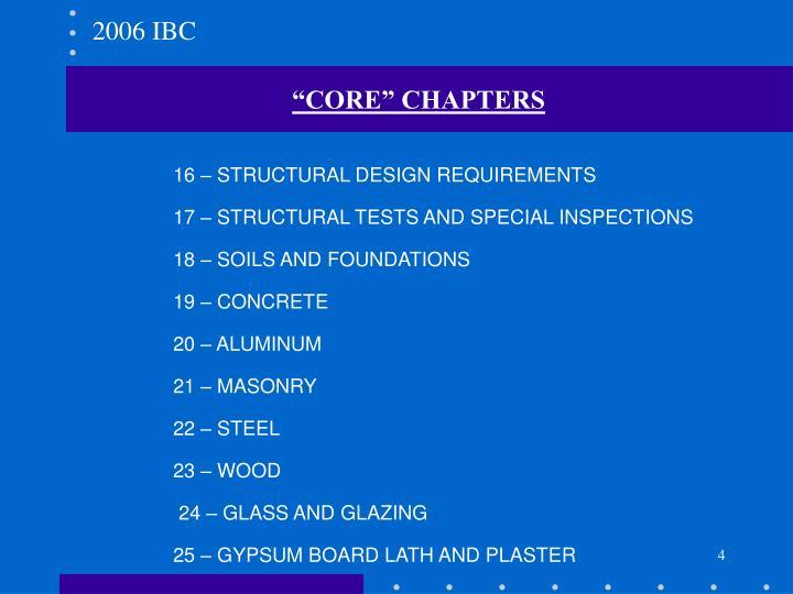 2006 IBC